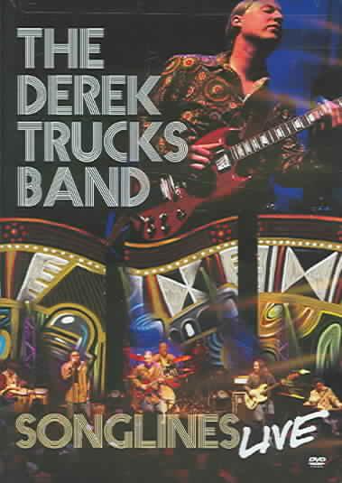 SONGLINES LIVE BY TRUCKS,DEREK BAND (DVD)